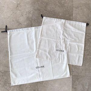 Celine set of dust bags